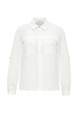Блуза Evans. Цвет: белый