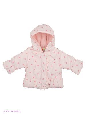 Куртка Kidly. Цвет: бледно-розовый