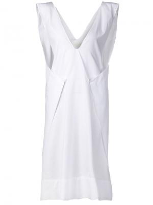 Платье Envelope Jasmin Shokrian. Цвет: белый
