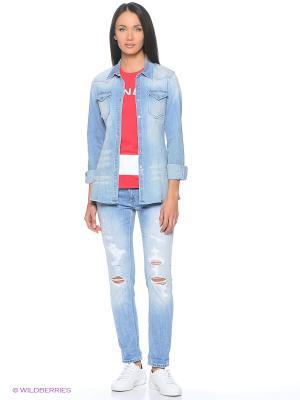 Рубашка джинсовая DonDup. Цвет: голубой