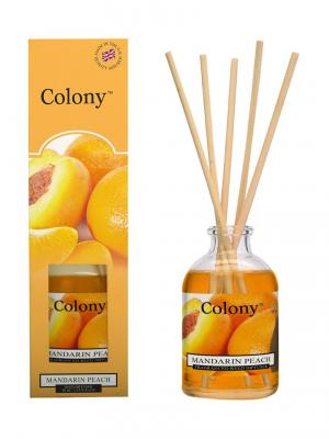 Аромадиффузор Мандарин и персик Colony. Цвет: светло-оранжевый