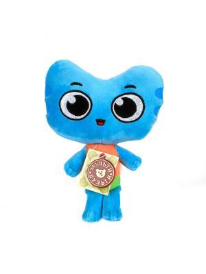Мягкая игрушка Мульти-Пульти  из м/ф Котики, вперед! Котенок Котя.. Цвет: синий, зеленый, оранжевый