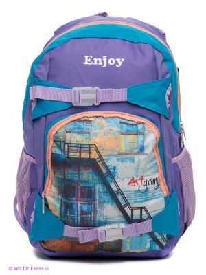 Рюкзак PROFF. Цвет: сиреневый, персиковый, бирюзовый