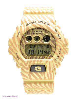 Часы G-SHOCK DW-6900ZB-9E CASIO. Цвет: бежевый