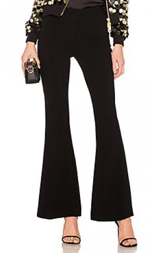 Расклешенные брюки reed RACHEL ZOE. Цвет: черный