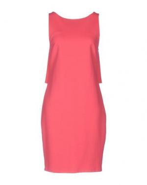 Короткое платье CRISTINAEFFE. Цвет: коралловый