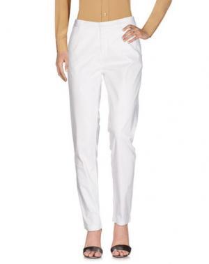 Повседневные брюки WOOLRICH. Цвет: белый