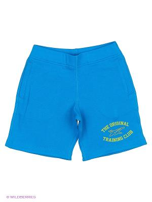 Шорты BOYS KNIT SHORT ASICS. Цвет: голубой