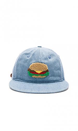 Шляпа burger world Ambsn. Цвет: синий