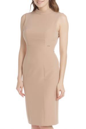 Платье HANNY DEEP. Цвет: бежевый