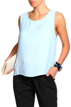 Блуза Pure. Цвет: голубой