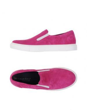 Низкие кеды и кроссовки FABIANO RICCI. Цвет: фуксия