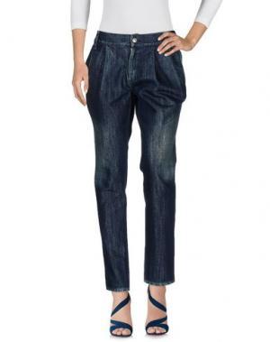 Джинсовые брюки LIMI FEU. Цвет: синий