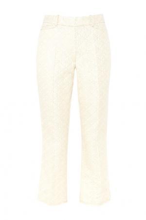 Жаккардовые брюки Simone Rocha. Цвет: золотой