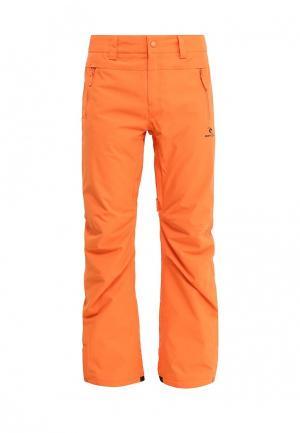 Брюки горнолыжные Rip Curl. Цвет: оранжевый