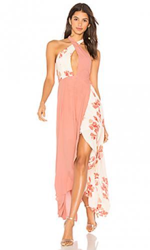Платье sarah Privacy Please. Цвет: румянец