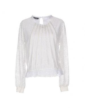 Блузка SOALLURE. Цвет: белый