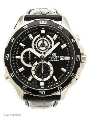 Часы EDIFICE EFR-547L-1A CASIO. Цвет: черный, серебристый
