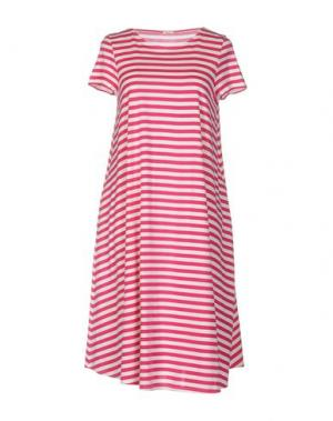 Платье до колена A.B APUNTOB. Цвет: фуксия