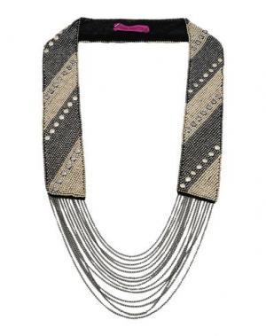 Ожерелье FIONA PAXTON. Цвет: свинцово-серый