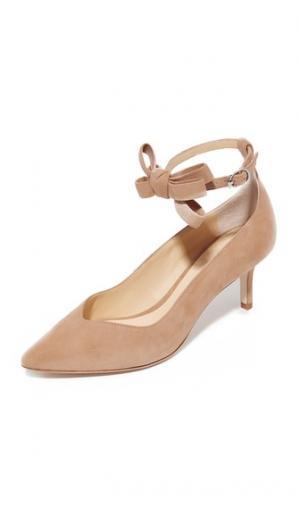 Туфли на каблуке «рюмочка» Mariana Isa Tapia. Цвет: летний песок