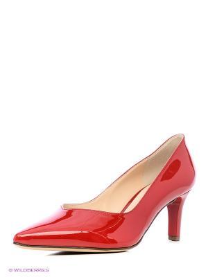 Туфли HOGL. Цвет: красный