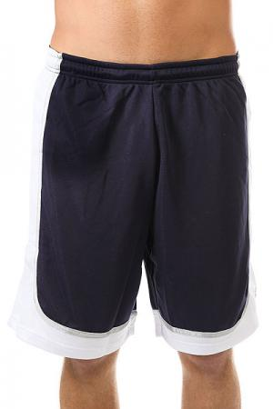 Шорты классические  Hardwood League Uniform White/Blue K1X. Цвет: белый,синий