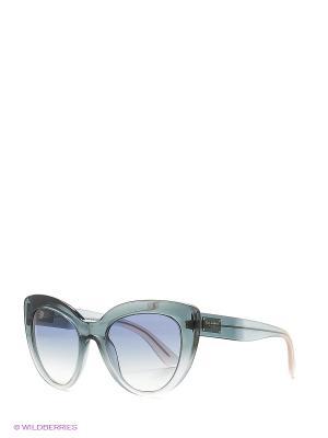 Очки солнцезащитные DOLCE & GABBANA. Цвет: зеленый, черный