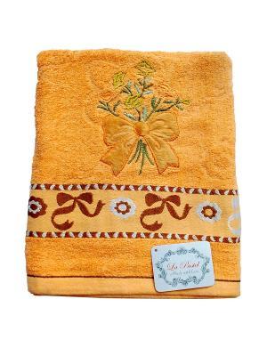 Полотенце Бант 70х140 La Pastel. Цвет: оранжевый
