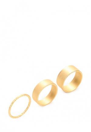 Комплект diva. Цвет: золотой