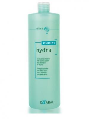 Purify Увлажняющий шампунь Hydra Shampoo 1000мл. Kaaral. Цвет: светло-зеленый