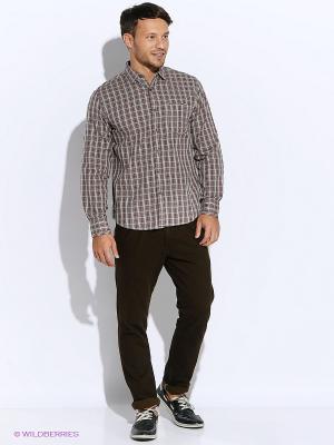 Рубашка Mavango. Цвет: бордовый