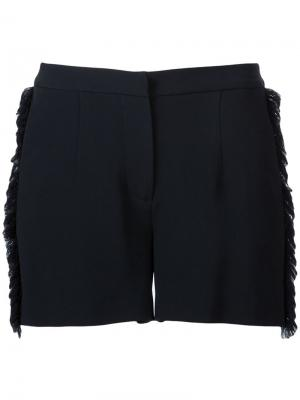 Frayed edge shorts Jeffrey Dodd. Цвет: чёрный