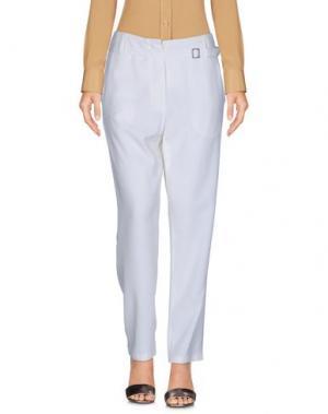 Повседневные брюки EQUIPMENT FEMME. Цвет: слоновая кость