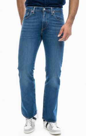 Расклешенные джинсы с низкой посадкой 527™ Slim Bootcut Levi's®. Цвет: синий