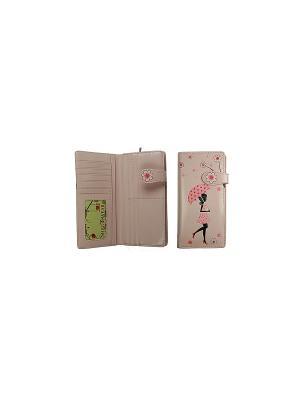 Портмоне женское Русские подарки. Цвет: розовый
