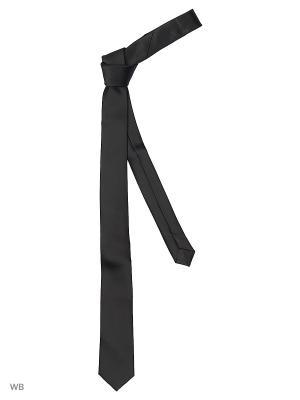 Галстук - PLAIN MANGO MAN. Цвет: черный