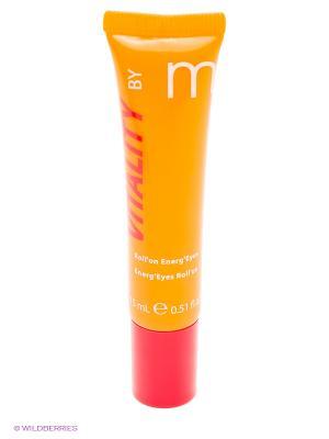 Энергия витаминов для молодой кожи энергетический роликовый крем глаз, 15 мл Matis. Цвет: прозрачный