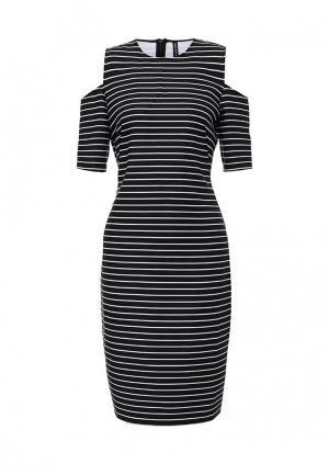 Платье Concept Club. Цвет: черно-белый