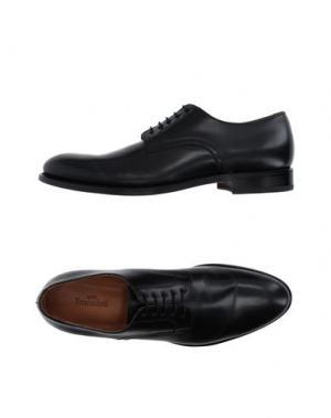 Обувь на шнурках FRANCESCHETTI. Цвет: черный