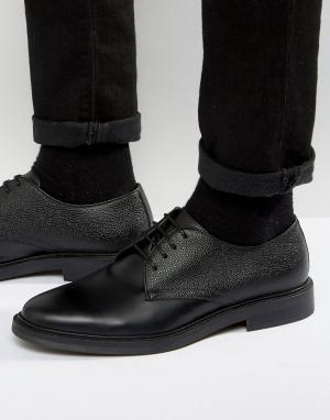 Zign Кожаные туфли дерби. Цвет: черный