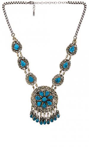 Ожерелье the huntress Natalie B Jewelry. Цвет: металлический серебряный