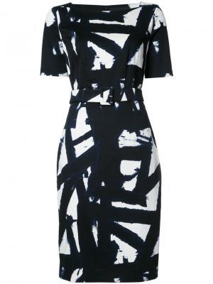 Celine Kline dress Samantha Sung. Цвет: синий
