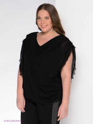 Блузка Giani F. Цвет: черный