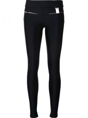 Эластичные брюки Slick Thomas Wylde. Цвет: чёрный