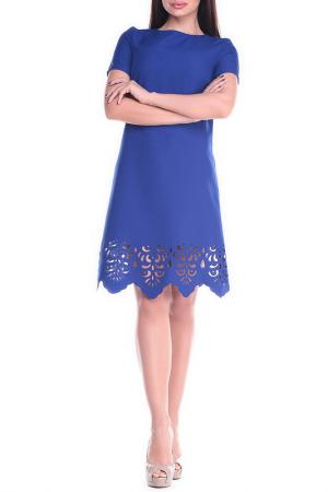 Платье Dioni. Цвет: электрик