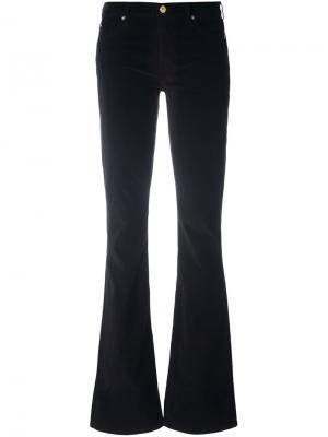 Расклешенные брюки 7 For All Mankind. Цвет: чёрный