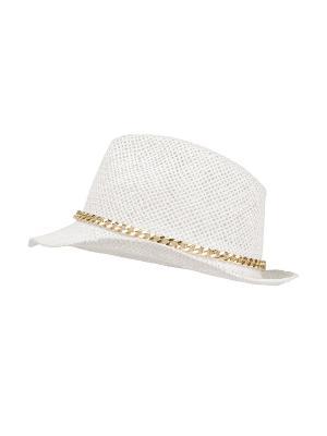 Шляпа APART. Цвет: молочный