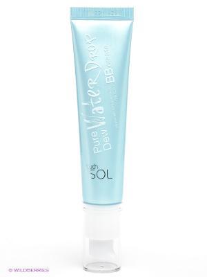 Увлажняющий ВВ-крем для лица, 35 мл Touch in sol. Цвет: синий