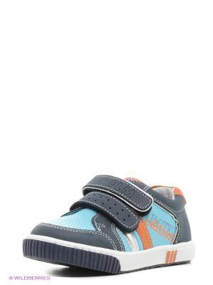 Ботинки Flamingo. Цвет: синий, голубой